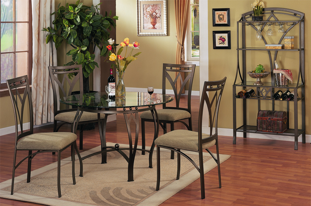 F2028 F1002 Table 6 Chairs Genesis Furniture