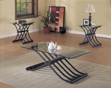Acme 02708 3pc Coffee Table Set