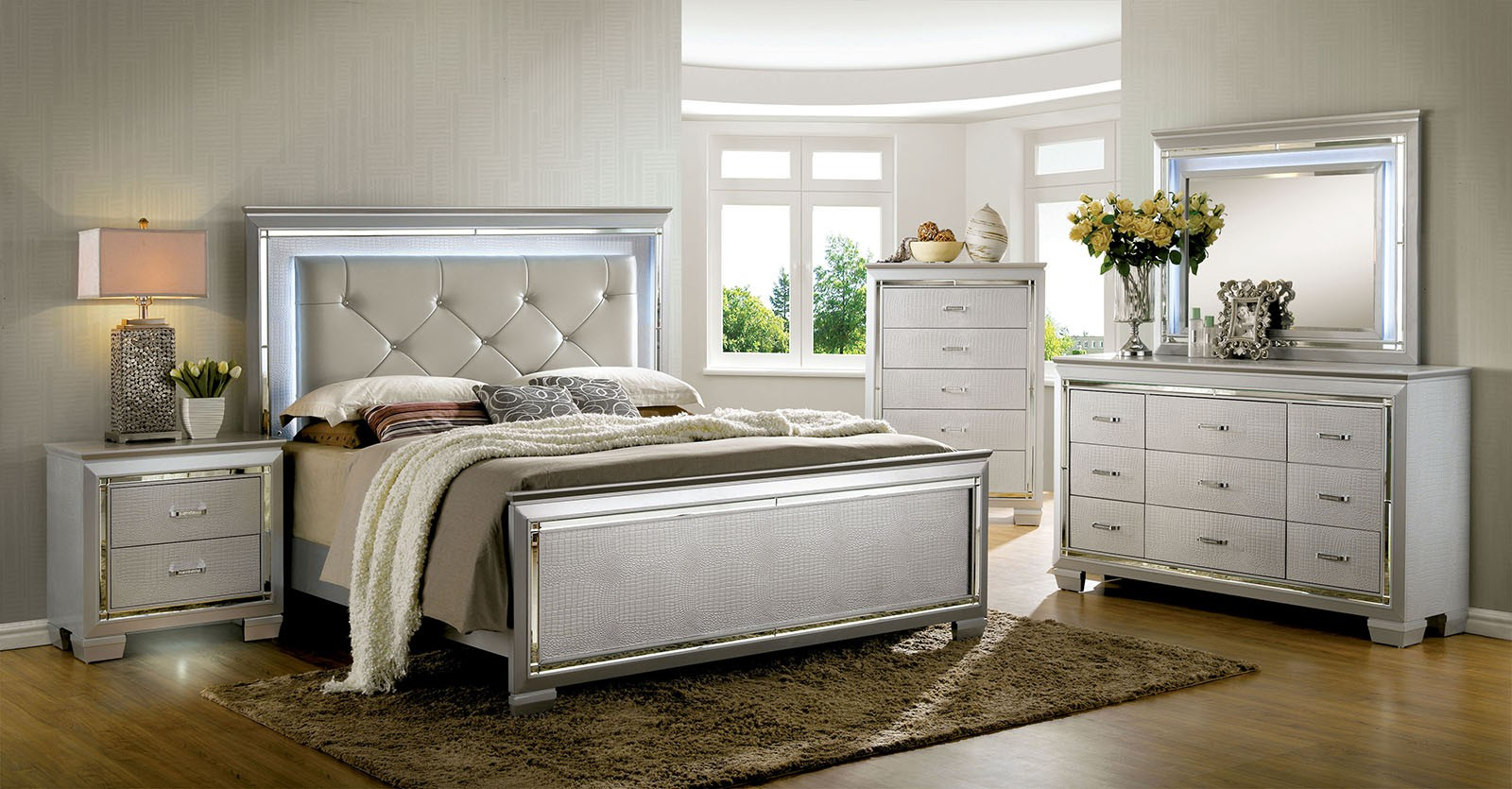 Lillian B7100 Bedroom Set