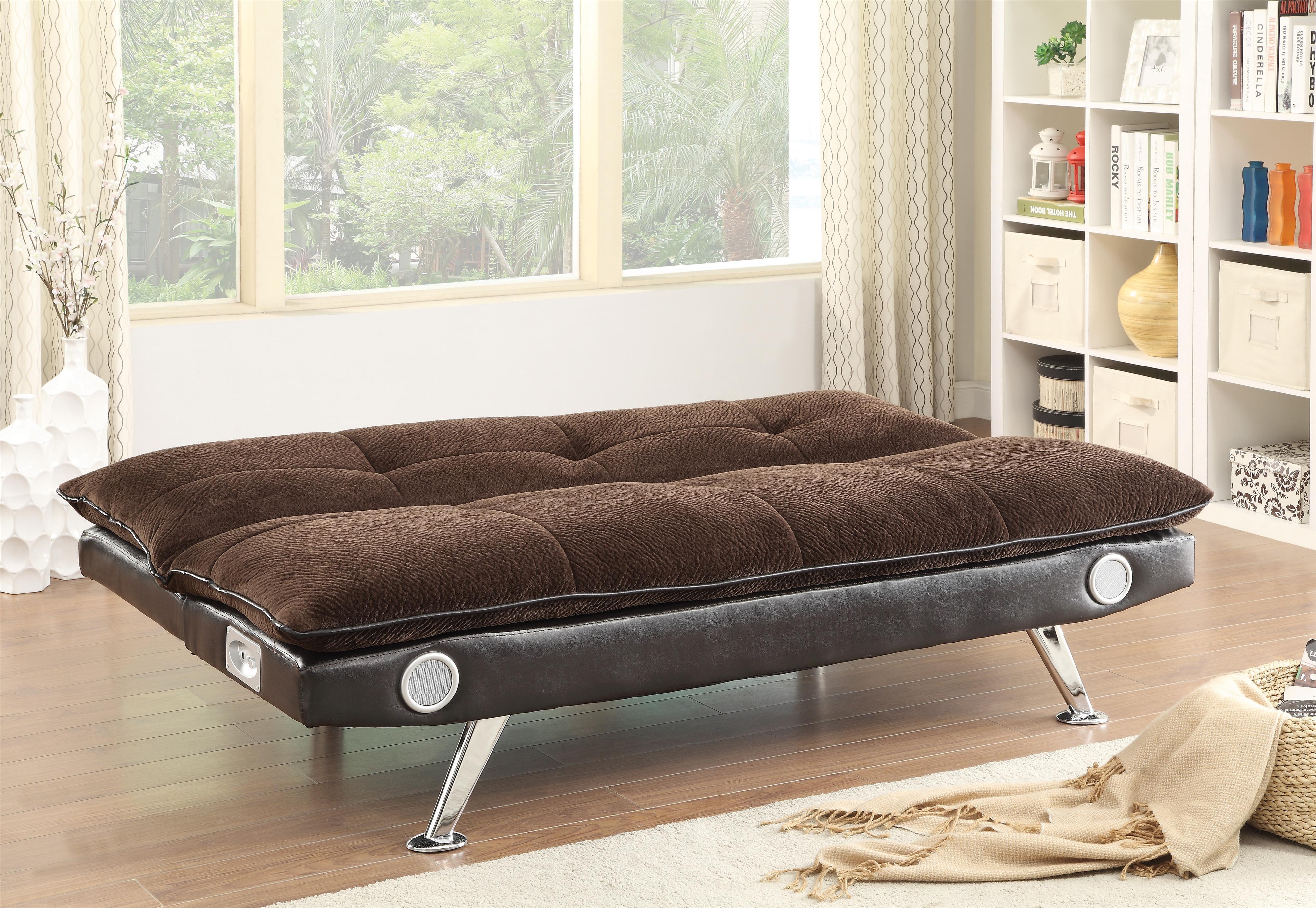 500047 sofa bed by coaster furniture genesis furniture for Coaster furniture