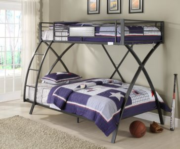 B813T-1 Spaced Out Bunk Bed by Homelegance, Inc.