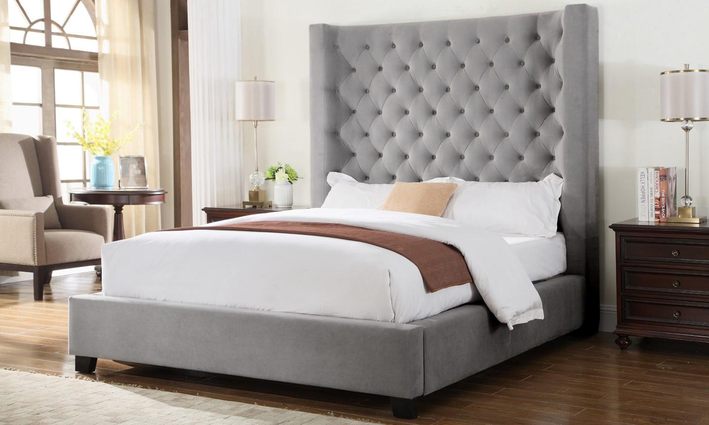 Yy128 Upholstered Bed Genesis Furniture